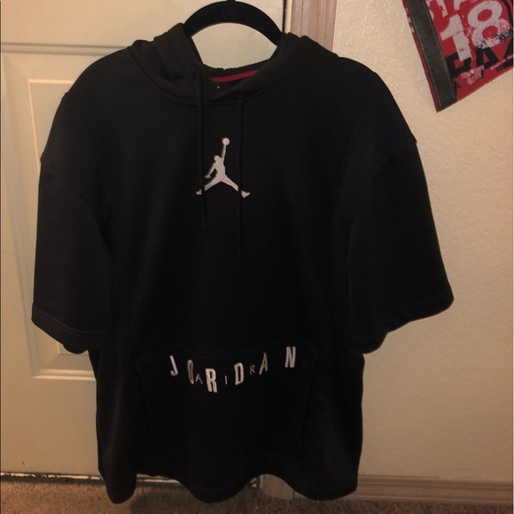 a42390c5817a9 NIKE MENS AIR JORDAN BSC DRI-FIT BASKETBALL HOODIE